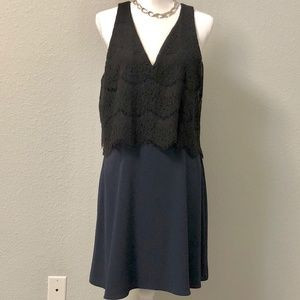 Charles Henry Lace Popover Swing Dress - Sz. XL